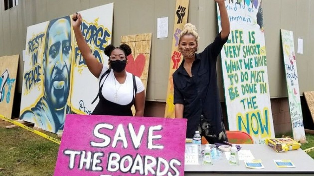 Courtesy of Save the Boards to Memorialize the Movement
